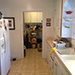 Kitchen and laundry room interior remodel photo